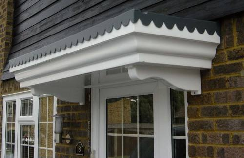 Door Canopies Glass Fibre Reinforced Plastic Grp